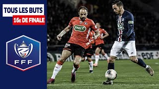 VIDEO: Coupe de France : Les buts des 16es de finale I FFF 2019-2020