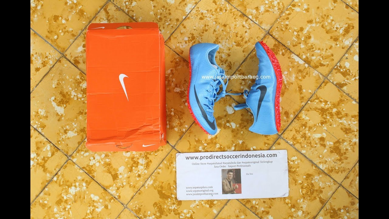 97e2205a90e Sepatu Spikes Nike Zoom Superfly Elite Blue Fox 835996 446 Original
