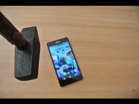 Sony Xperia Z2 Hammer Test HD