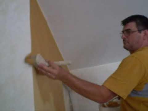 Decorare pareti pittura dorata effetto oro grezzo effetti
