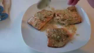 Broiled Dill And Lemon Salmon
