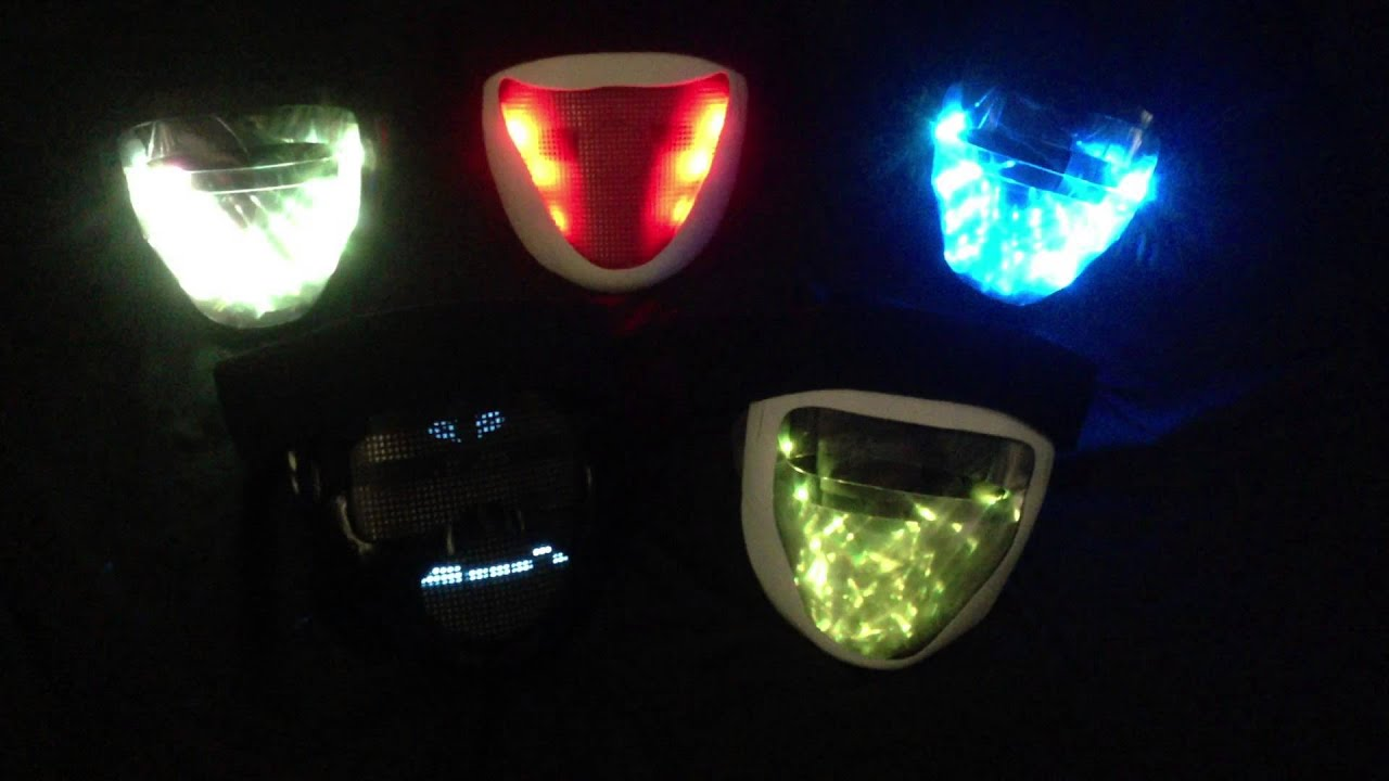 Led Light Mask