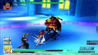 One Piece Unlimited World Red - All Boss Fights [HD]