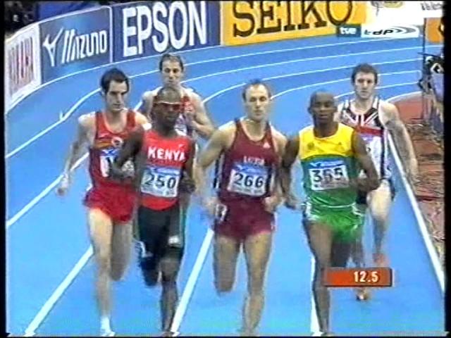 Wilfred Bungei vence en 800 Cto Mundial indoor Moscú 2006