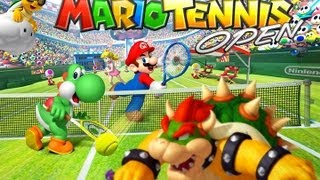 CGRundertow MARIO TENNIS OPEN for Nintendo 3DS Video Game Review