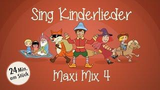 Sing Kinderlieder Maxi-Mix 4: Aramsamsam u.v.m. - Kinderlieder zum Mitsingen | Sing Kinderlieder