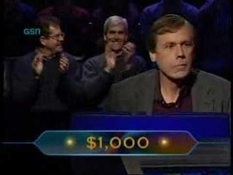 WWTBAM - Ed Toutant's Original Run & Bad $16,000 Question