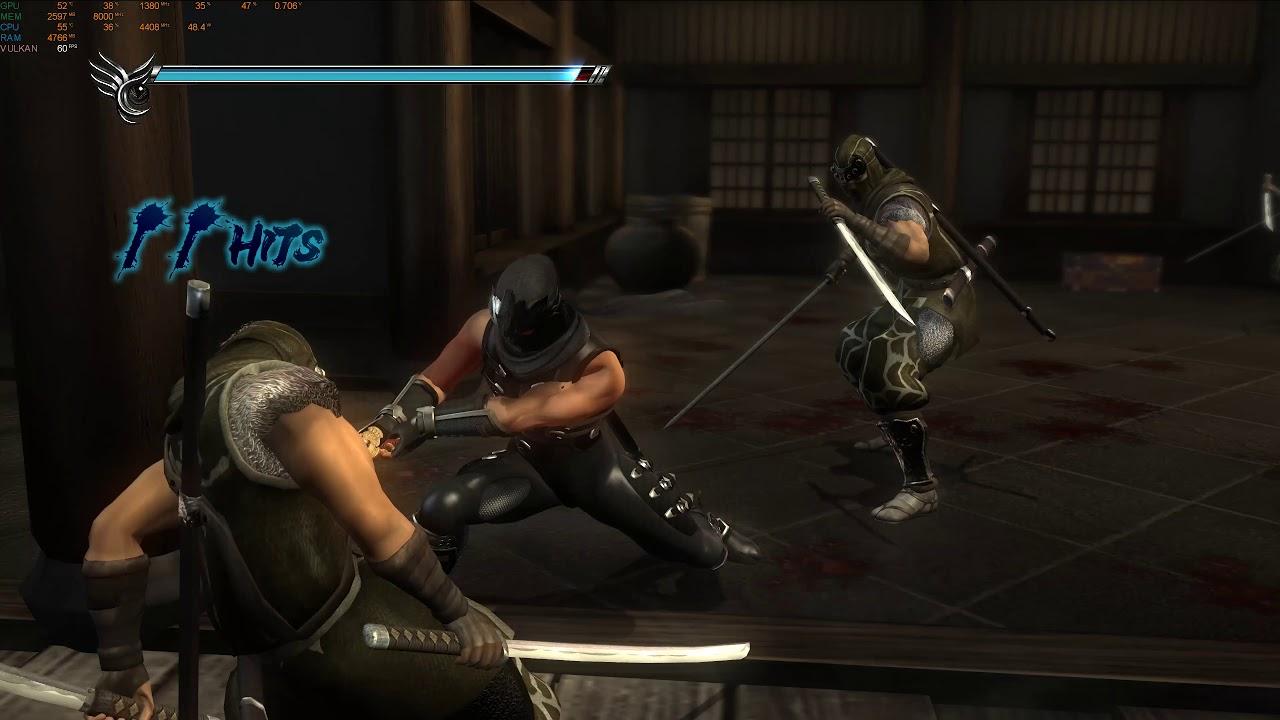 Ninja Gaiden 2 Ps3 Emulator 4k Rpcs3 0 0 6 8380 I7 6900k Rtx