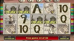Chicago Slot Machine - Mega Win On Free Spin Bonus