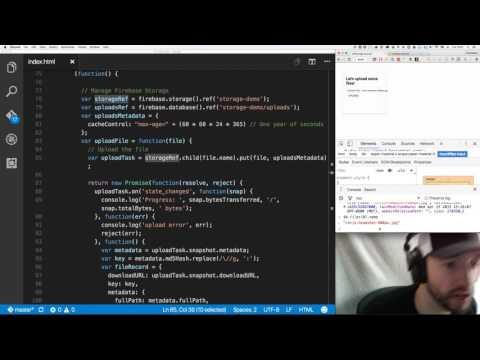 Firebase 3 0: Storage - YouTube