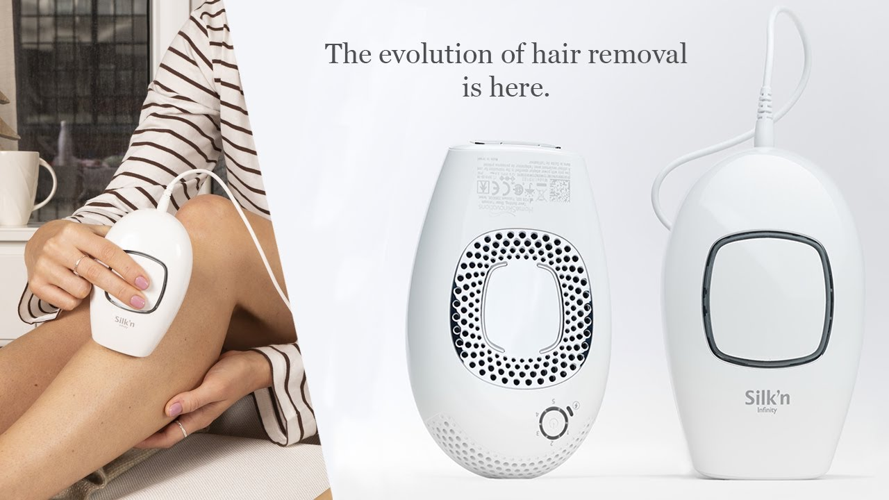 Silk'n Infinity Hair Removal Device – At Home Hair Removal