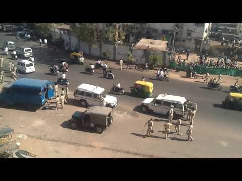 ahmedabad police attack