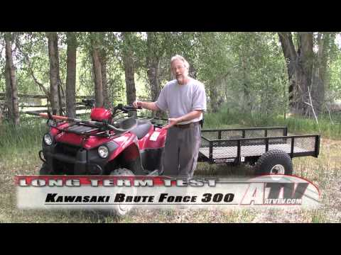 ATV Television - 2012 Kawasaki Brute Force 300 Long Term Test