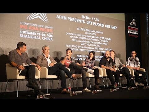 IMS Asia-Pacific 2016: AFEM Presents Get Played, Get Paid