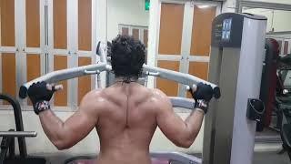 Khesari Lal Yadav live in gym