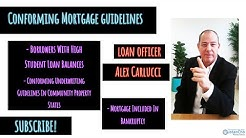 Conforming Underwriting Guidelines On Conventional Loans