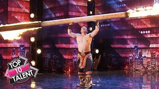 TOP 10 STRONGEST Contestants EVER On Got Talent Around The World!