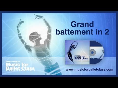 Grand Battement in 2 - Music for Ballet Class by Martin Åkerwall
