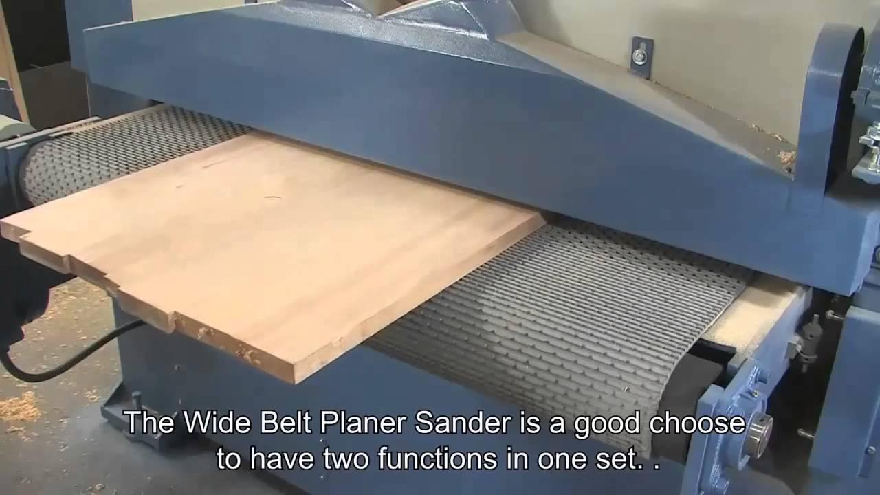 Wide Belt Sander Planer Sanding