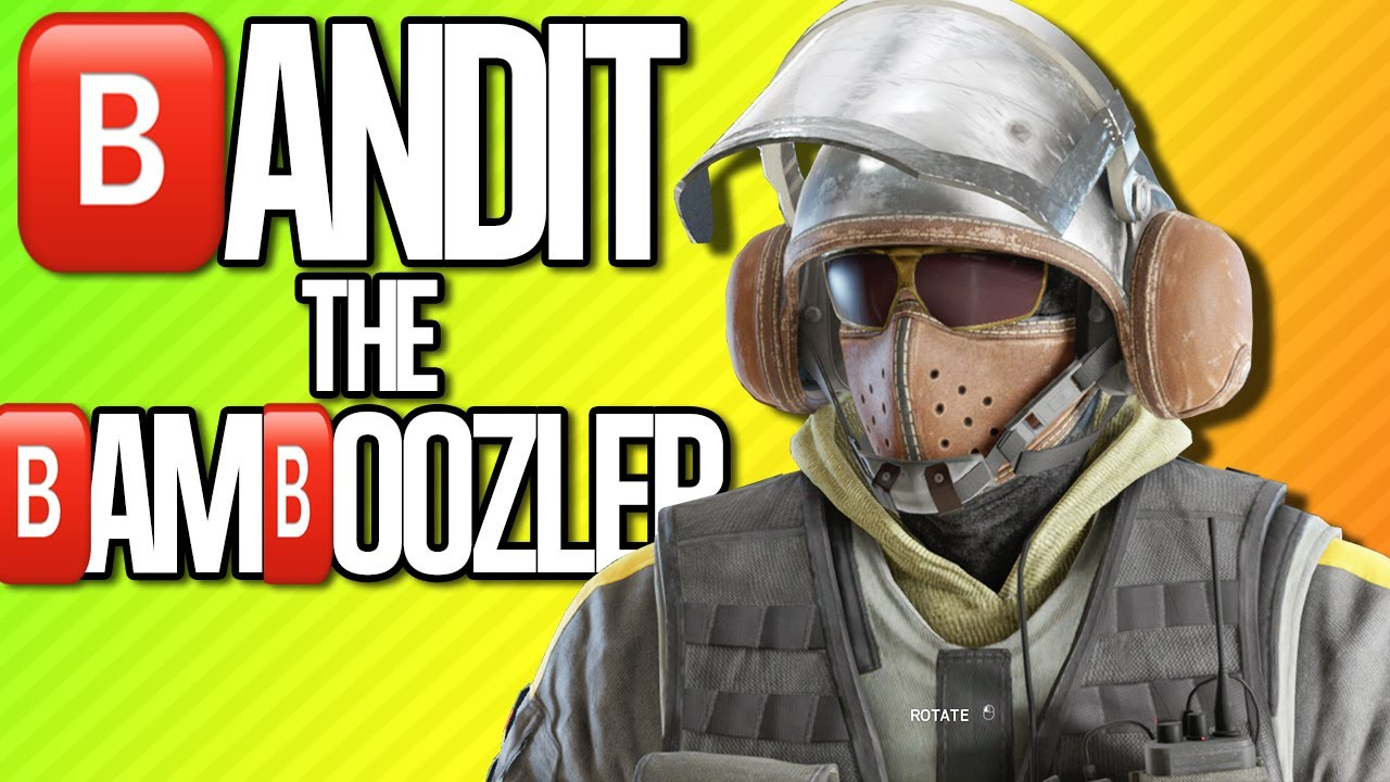 bandit the bamboozler rainbow six siege youtube