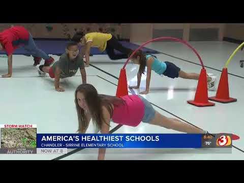 3TV: 2019 America's Healthiest Schools at Sirrine Elementary School