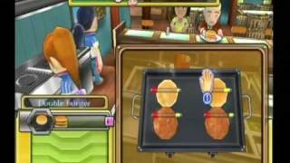 Fast Food Panic (Wii) Gameplay