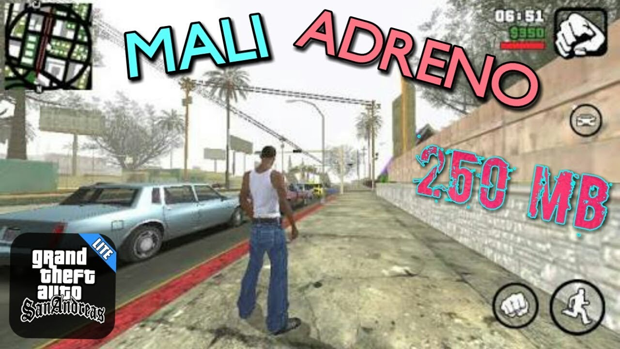 How To Download | GTA SAN ANDREAS LITE | Adreno And Mali GPU | In Android  By Andro Gamer ANDROGAMER