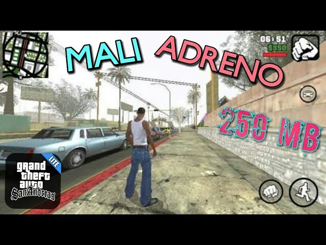 250 MB) GTA San Andreas Lite For Adreno GPU For Android