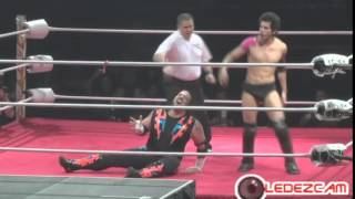 Nick Romano vs Ricky Cruzz WWL Idols of Wrestling PR