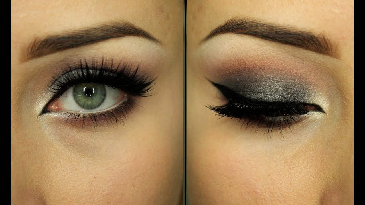 Eye Make Up Zoeva En Taupe Youtube