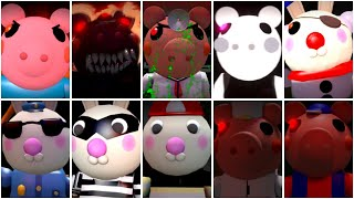 10 ROBLOX PIGGY JUMPSCARES - Roblox Piggy Animation