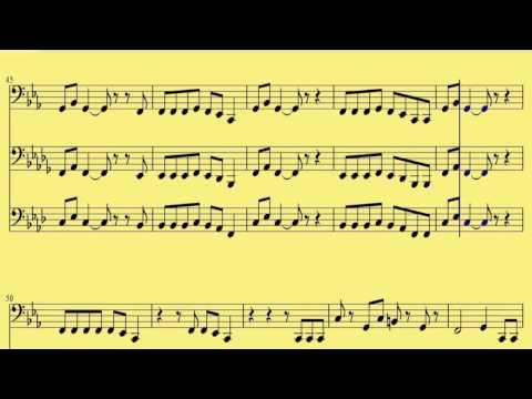 [ Bb, C, F, Tuba ] Dark Horse - Katy Perry