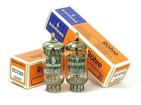 12AX7 / ECC83 preamp tube comparison in V1 position