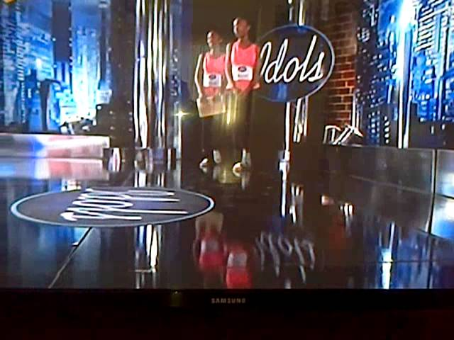 Twins on SA Idols Travel Video