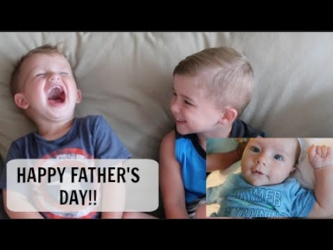 THEY ARE SO FUNNY! I FATHER'S DAY 2017 I ASKING THE BOYS QUESTIONS ABOUT DADDY