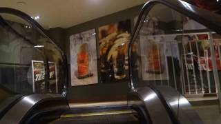 Escalators, Elevators and Toilet in the Movie Tavern in Fort Worth, TX