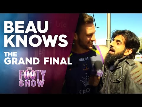 Beau Knows The Grand Final | NRL Footy Show