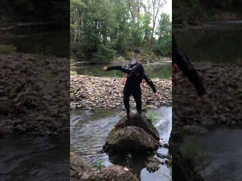 Fishing fun!😂  #yakheadz #fishing #fails #fail #fishingfail #fun #funny #nature #outdoor #shorts