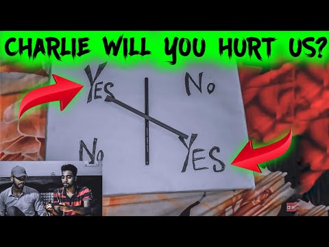 Indian Playing Charlie Charlie Pencil Game(GONE WRONG)/ Charlie answered our questions/experiment