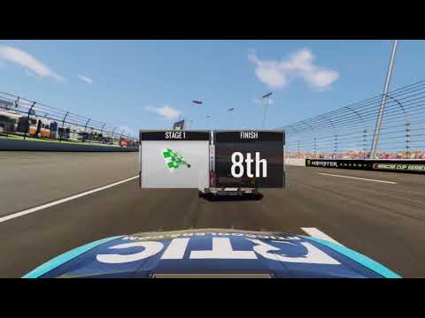 Nascar Heat 2 Elite Cup Racing Texas Motor Speedway Monster Energy Series XBOX