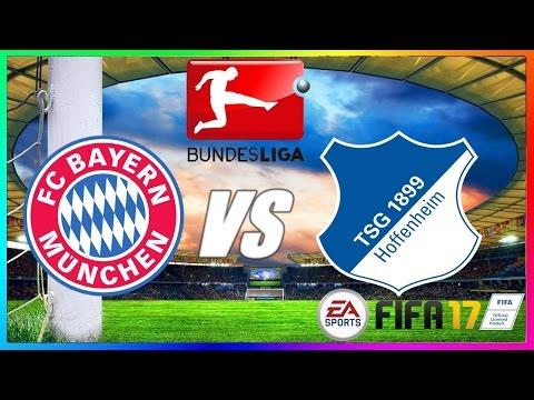 FC Bayern München vs TSG 1899 Hoffenheim | 05.11.2016 | 10.Spieltag | 1.Bundesliga | FIFA 17