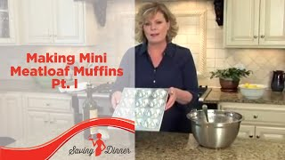 How To Make Mini Meatloaf Muffins - Part 1 By Leanne Ely