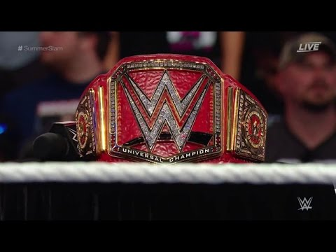 Mi Reacción al ver el WWE Universal Championship Oficial.
