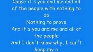 Repeat youtube video You and me - Lifehouse