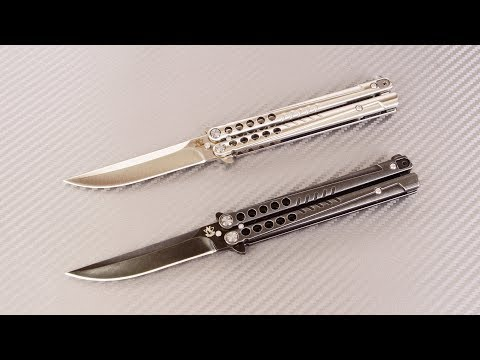 Нож-бабочка (балисонг) Секиро от Steelclaw. Обзор ножа и распаковка