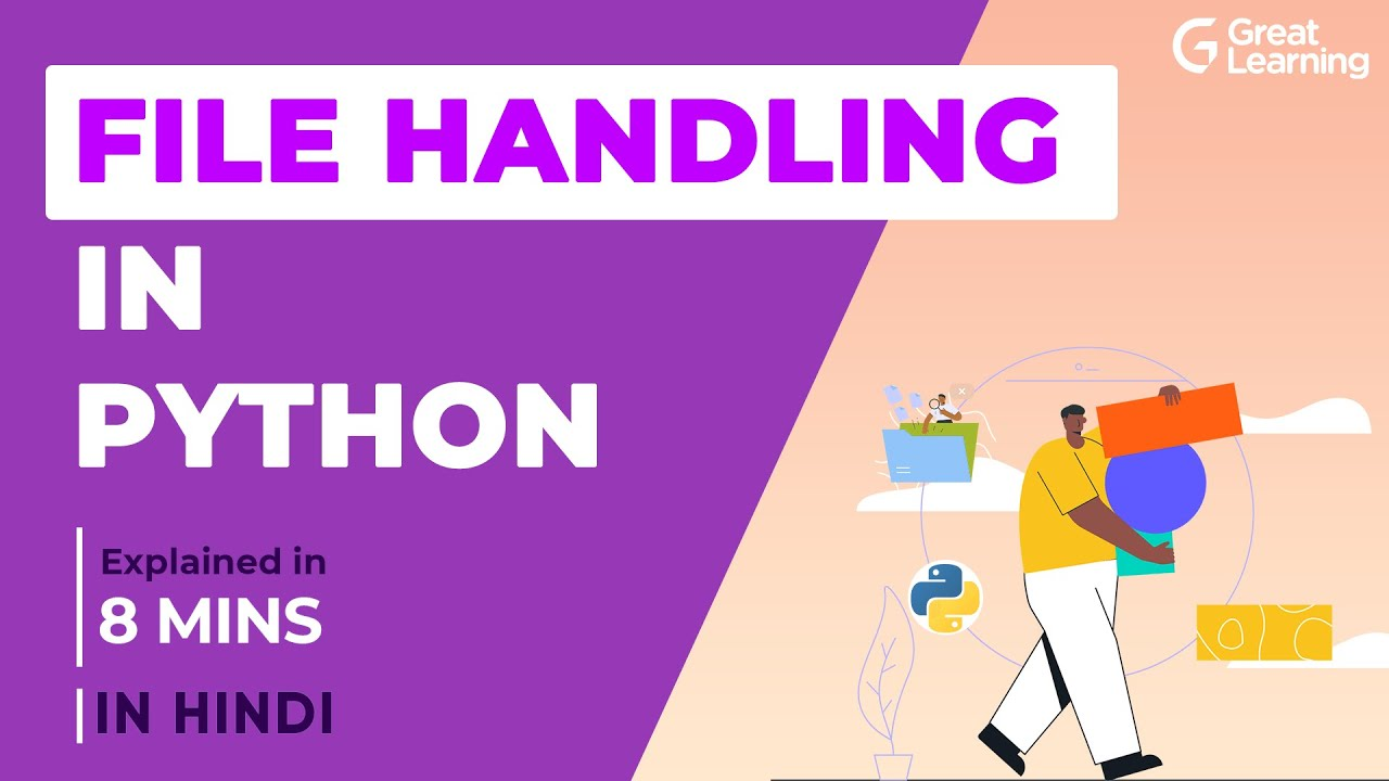 File Handling in Python - Explained in Hindi | Learn Python File Handling in 8 mins
