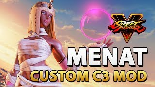 Custom Menat (C3) - Street Fighter V Mod by KrizmKazm
