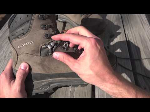Boot Review: LOWA Tibet GTX - Lacing Details