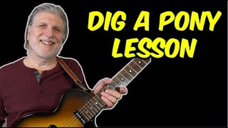 Guitar Lesson - Dig A Pony (The Beatles)