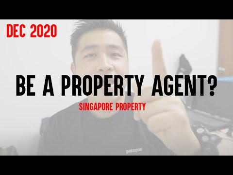 Want to be a property agent? / Singapore Property
